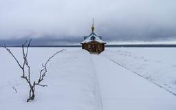 Kaplicy baptistery w Ortodoksalnym monasterze Obraz Stock