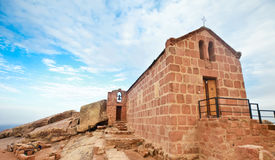kaplicy góra synaj Obrazy Stock