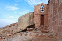 kaplicy góra synaj Zdjęcia Royalty Free