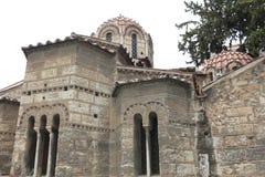Kapnikarea, 11世纪,雅典,希腊教会  免版税库存照片