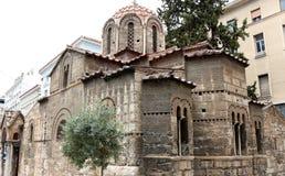 Kapnikarea, 11世纪,雅典,希腊教会  免版税库存图片