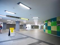 Kaponiera underground passage. stock footage