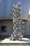 скульптура kapoor 80 шариков художника anish индийская Стоковые Фотографии RF