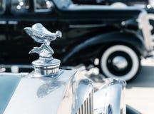 Kapornament van 1937 Rolls Royce Stock Foto's