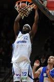 kaposvar篮球dombovar的比赛 库存图片
