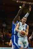 kaposvar篮球fehervar的比赛 库存照片