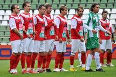 kaposvar ποδόσφαιρο παιχνιδιών diosgyor Στοκ Εικόνα