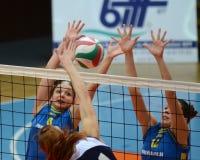 kaposvar волейбол ujbuda спички Стоковые Фото