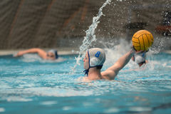 Kaposvar - AVSE waterpolo game Royalty Free Stock Photography