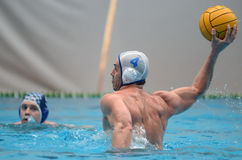 Kaposvar - AVSE waterpolo game Royalty Free Stock Photos
