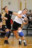 Kaposvar - Bacsbokod handball game Royalty Free Stock Photo