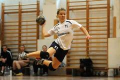 Kaposvar - Bacsbokod Handballspiel Stockfotografie