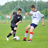 Kaposvar - Barcs U19 soccer game Royalty Free Stock Image