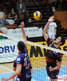 Kaposvar - Bled volleyball game Stock Images