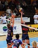 Kaposvar - Bled volleyball game Stock Photo