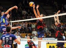 Kaposvar - Bled volleyball game Stock Image