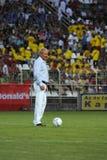 Kaposvar - Brescia u18 soccer game Royalty Free Stock Photography