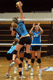 Kaposvar - BSE Volleyball Game Royalty Free Stock Images