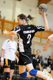 Kaposvar - Csurgo handball game Royalty Free Stock Photo