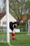 Kaposvar - Debrecen U19 soccer game Royalty Free Stock Image
