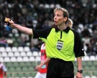 Kaposvar - Diosgyor voetbalspel royalty-vrije stock afbeeldingen