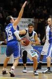 Kaposvar - Dombovar basketball game Stock Photo