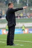 Kaposvar - Eger足球赛 免版税库存照片
