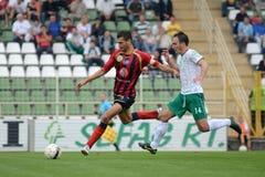 Kaposvar - Eger soccer game Stock Photo
