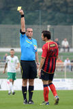 Kaposvar - Eger soccer game Royalty Free Stock Photography