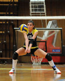Kaposvar - Eger volleyball game Royalty Free Stock Photos