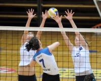 Kaposvar - Eger volleyball game Stock Photo