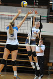Kaposvar - Eger volleyball game Royalty Free Stock Image