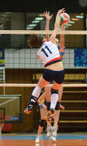 Kaposvar - Eger volleyball game Stock Images