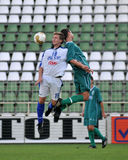 Kaposvar - Felcsut U19 soccer game Royalty Free Stock Images
