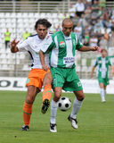 Kaposvar-Ferencvaros soccer game Stock Photo