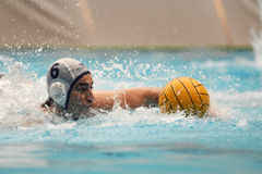 Kaposvar - Hegyvidek waterpolo game Royalty Free Stock Photo