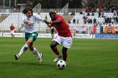 Kaposvar - Honved soccer game Stock Photo