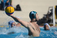 Kaposvar - Honved waterpolo game Royalty Free Stock Photography