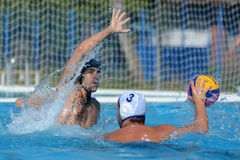 Kaposvar - Honved waterpolo game Stock Photography