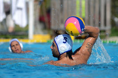 Kaposvar - Honved waterpolo game Stock Photos