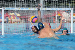 Kaposvar - Honved waterpolo game Stock Image