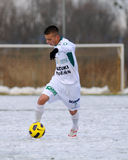 Kaposvar - Illes Akademia soccer game Stock Photography