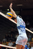 Kaposvar - Innsbruck  volleyball game Royalty Free Stock Image