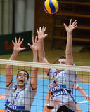 Kaposvar - Kastela Volleybalabgleichung Lizenzfreies Stockbild