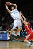 Kaposvar - Kecskemet basketball game Stock Image