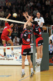 Kaposvar - Kecskemet volleyball game Royalty Free Stock Photo