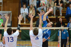 Kaposvar - Kecskemet volleyball game Stock Photos