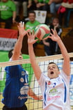 Kaposvar - Kecskemet volleyball game Royalty Free Stock Image