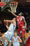 Kaposvar - Kormend basketball game Royalty Free Stock Image