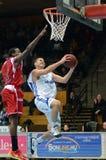 Kaposvar - Kormend basketball game Royalty Free Stock Images
